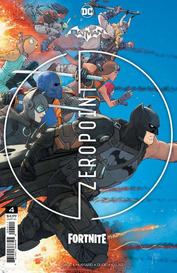 Batman / Fortnite: Zero Point #4