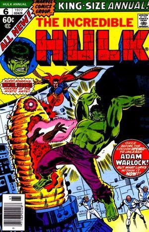 The Incredible Hulk Annual #6