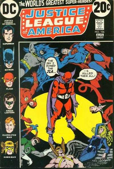 Justice League of America #106