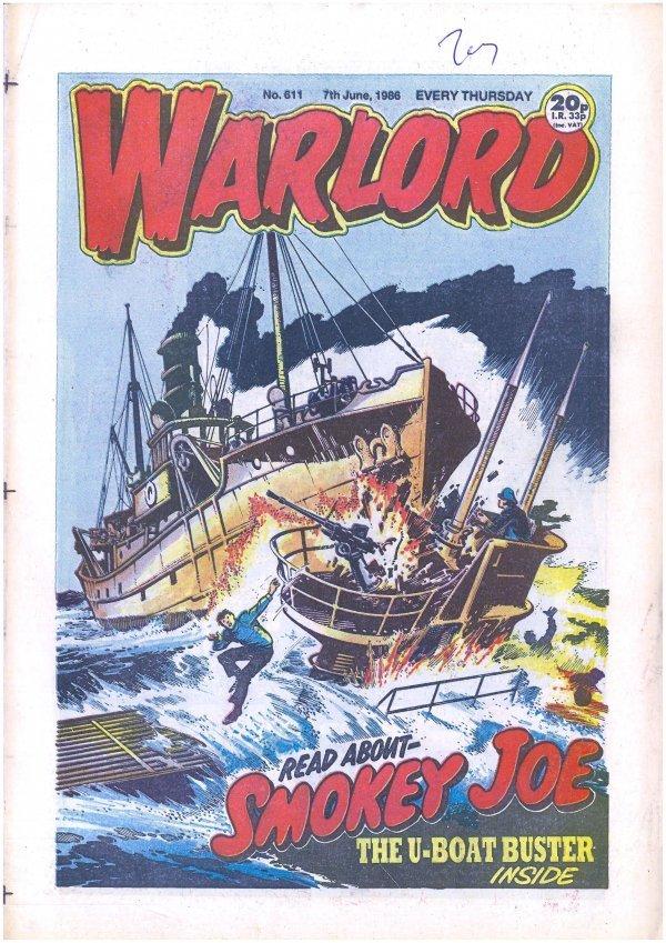 Warlord #611