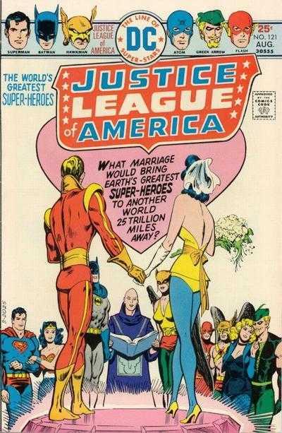 Justice League of America #121