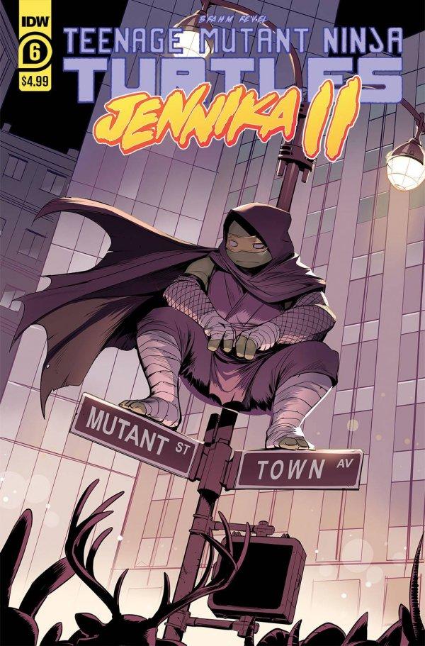 Teenage Mutant Ninja Turtles: Jennika II #6