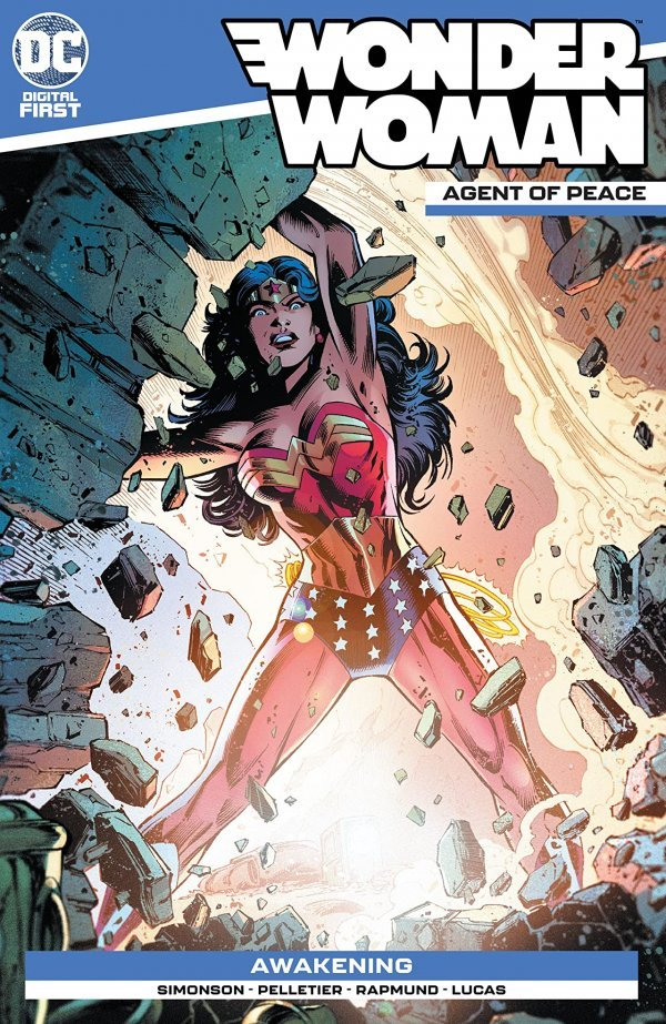 Wonder Woman: Agent of Peace #8 review