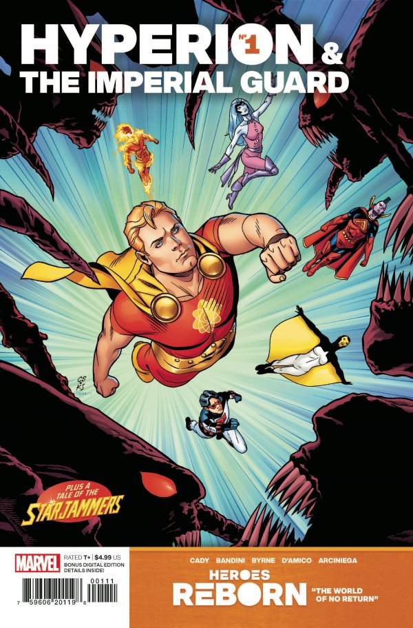 Heroes Reborn: Hyperion & the Imperial Guard #1