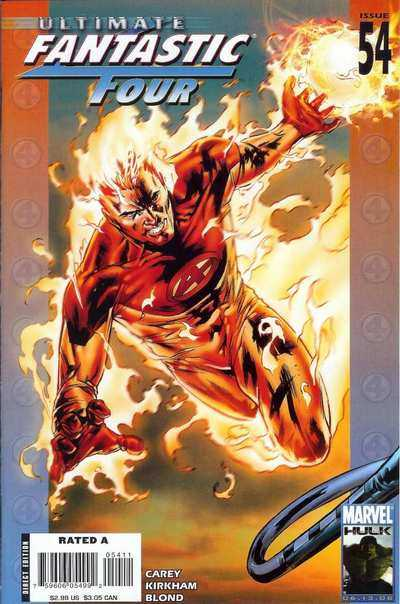 Ultimate Fantastic Four #54