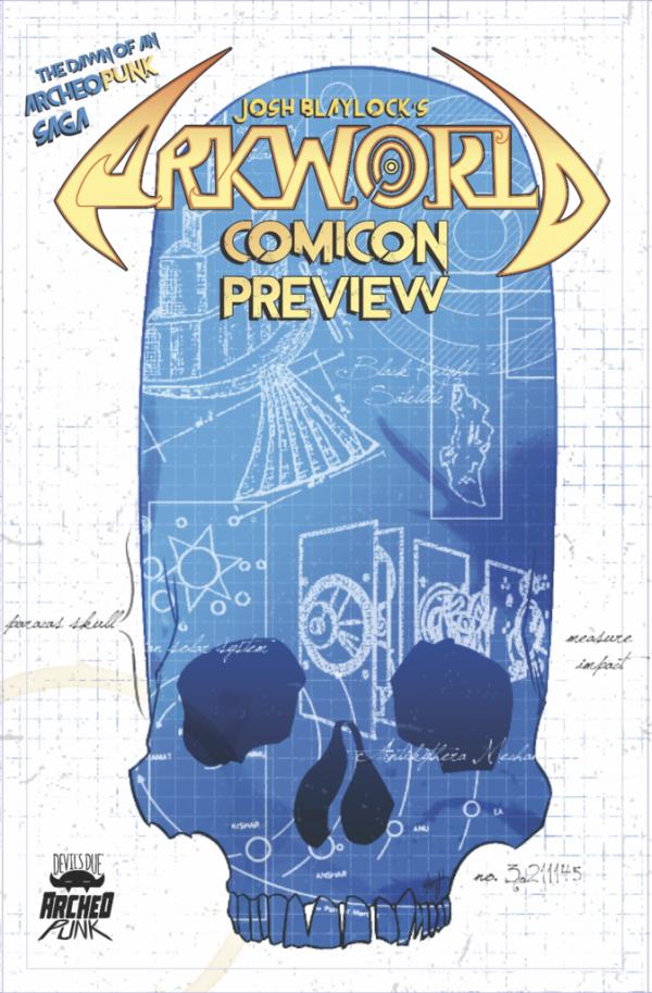 Arkworld Comicon Preview #1