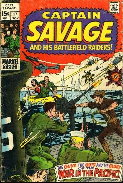 Captain Savage and his Leatherneck Raiders #17