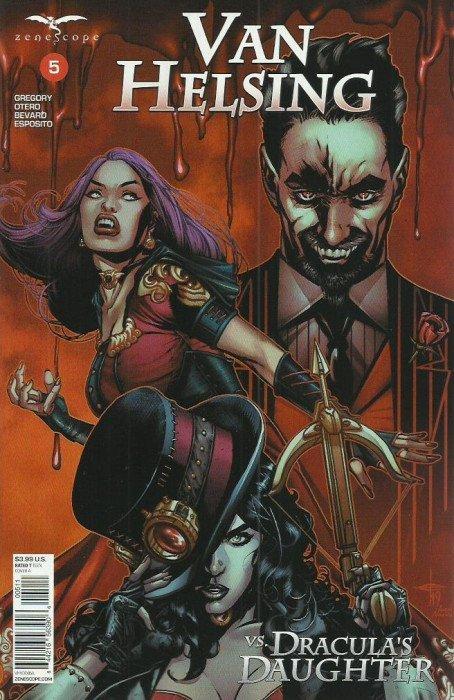 Van Helsing Vs. Dracula's Daughter #5 review