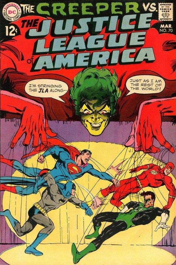 Justice League of America #70