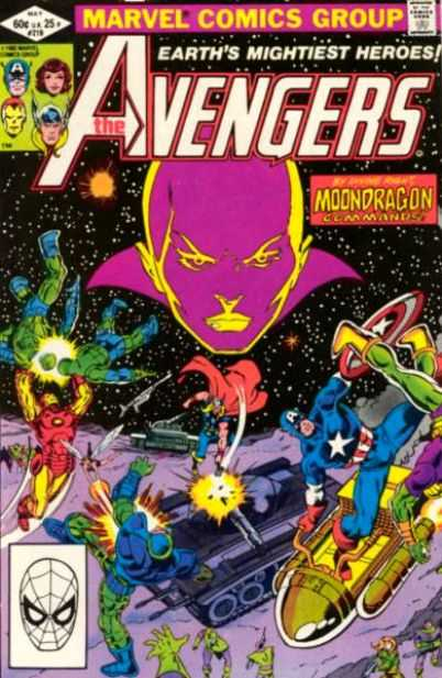 The Avengers #219