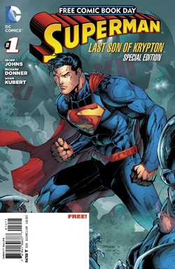 Free Comic Book Day 2013: Superman: Last Son of Krypton Special Edition #1