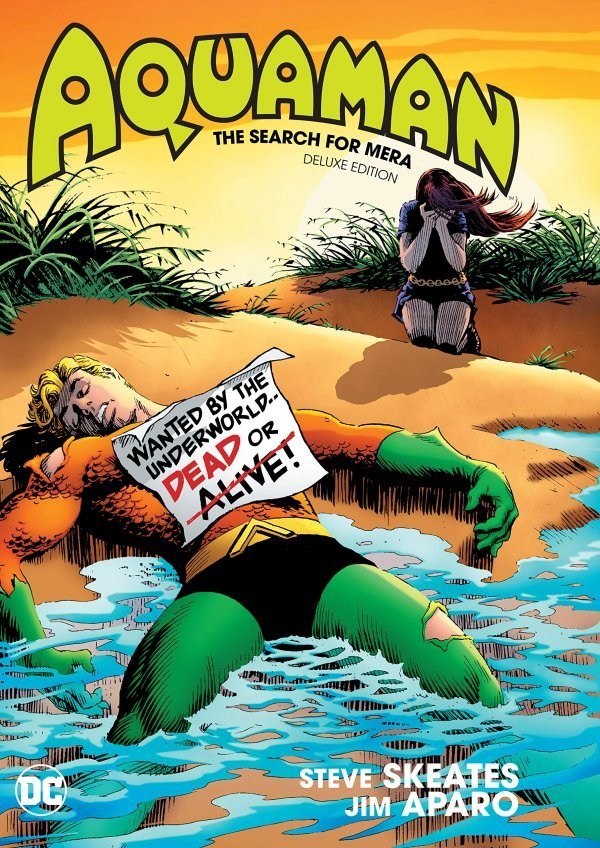 Aquaman: The Search For Mera Deluxe Edition HC