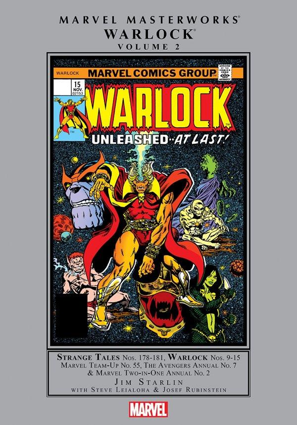 Marvel Masterworks: Warlock Vol. 2 HC