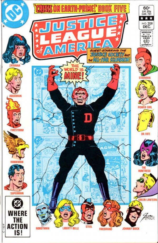 Justice League of America #209