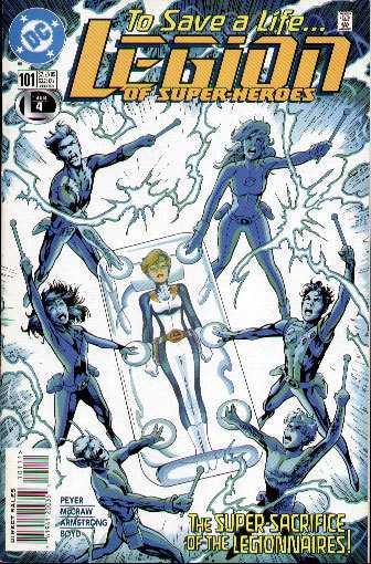 Legion of Super-Heroes #101