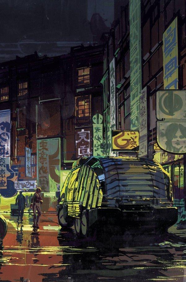 Blade Runner 2019 #1-4 Mead Pack