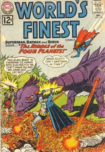 World's Finest Comics #130