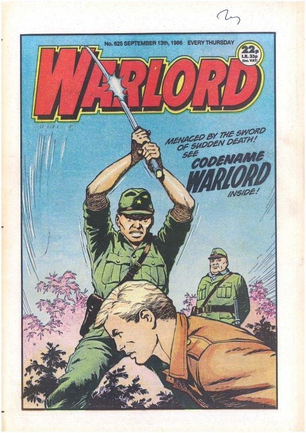 Warlord #625