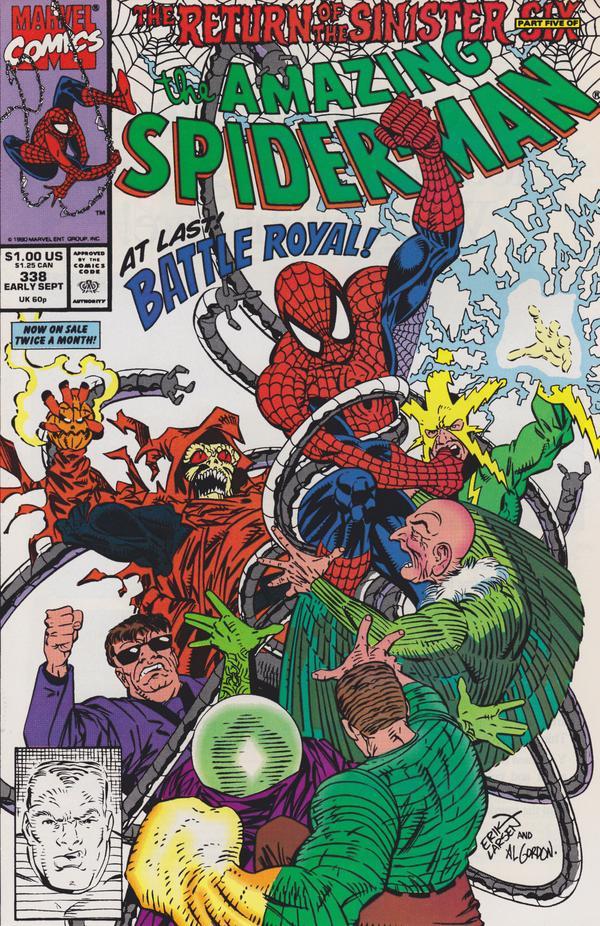 The Amazing Spider-Man #338