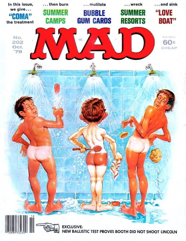 Mad Magazine #202