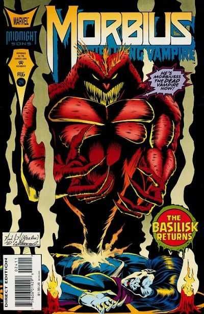 Morbius: The Living Vampire #24