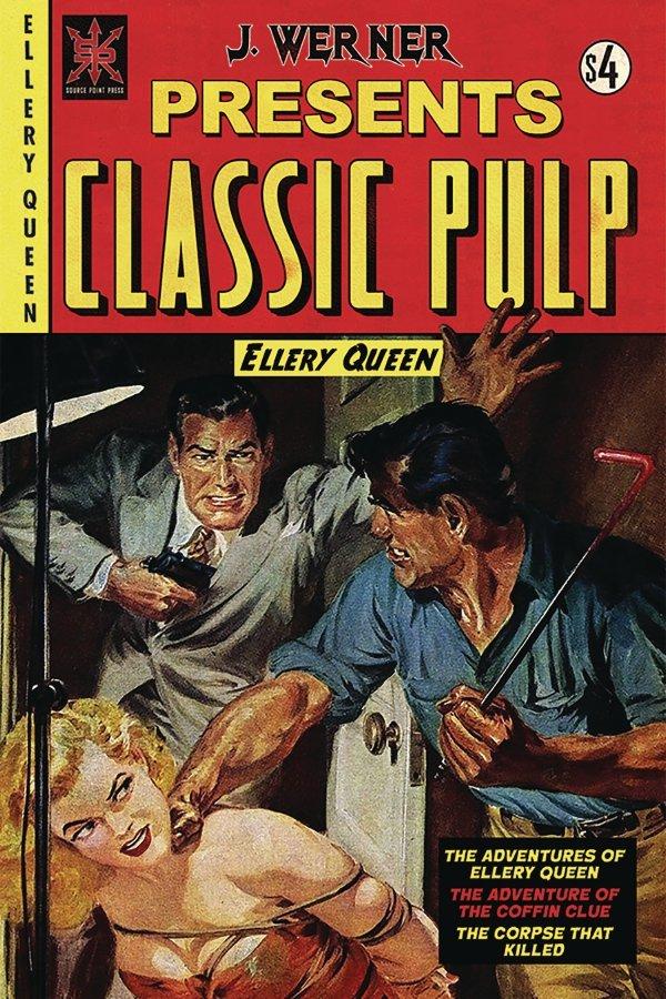 J. Werner Presents Classic Pulp: Ellery Queen #1