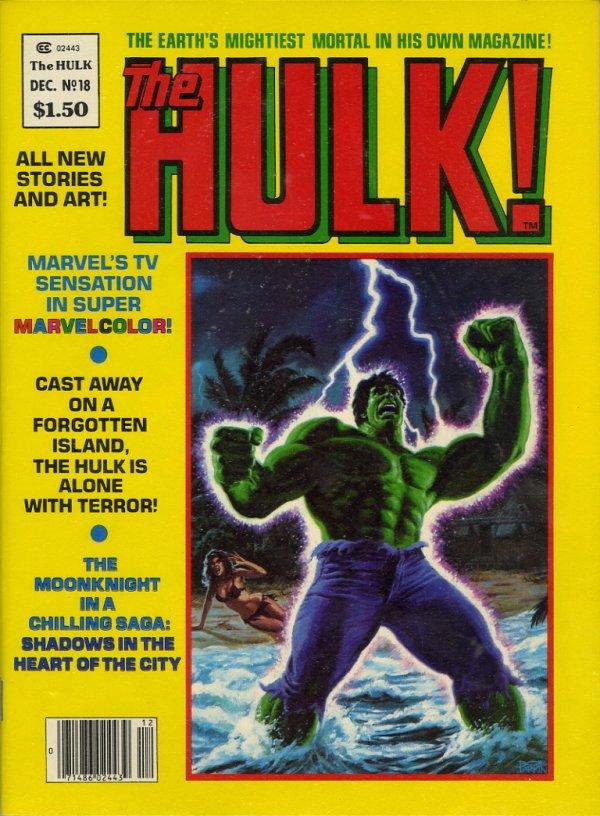 The Rampaging Hulk #18