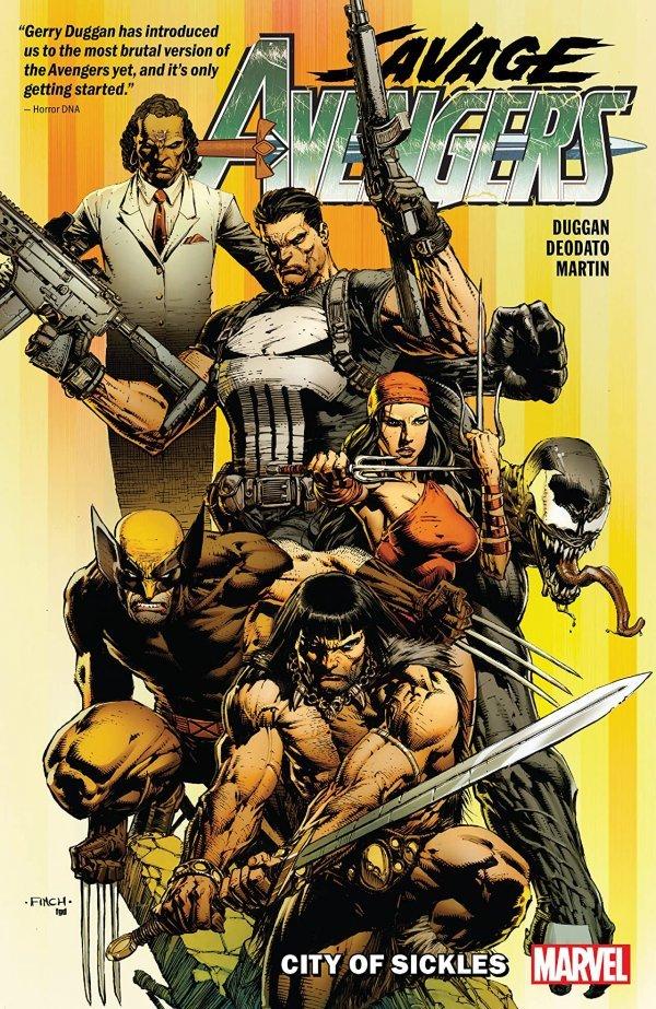 Savage Avengers Vol. 1: City of Sickels TP