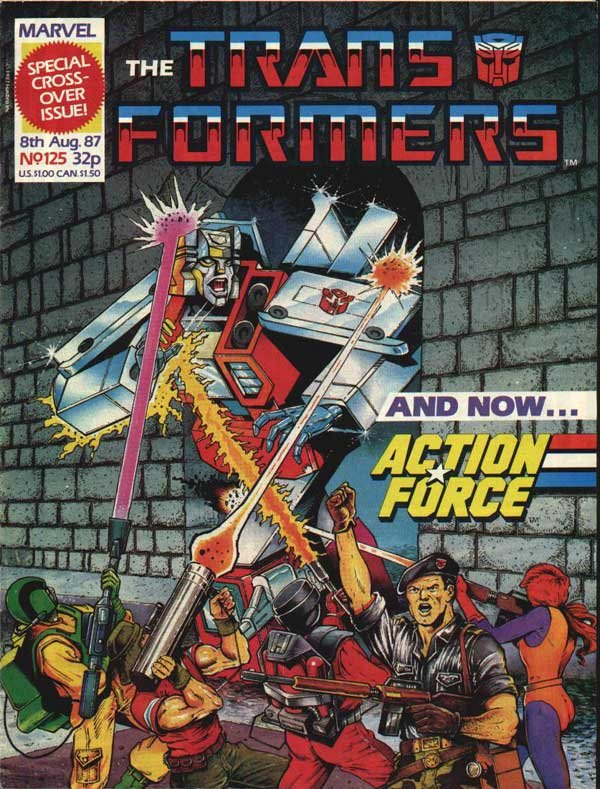 The Transformers #125