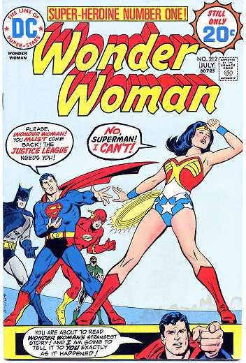 Wonder Woman #212