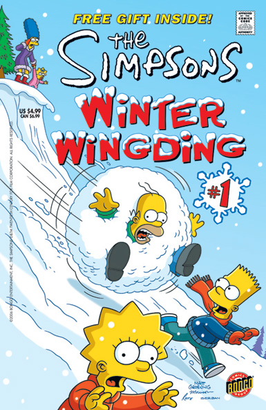 The Simpsons: Winter Wingding #1
