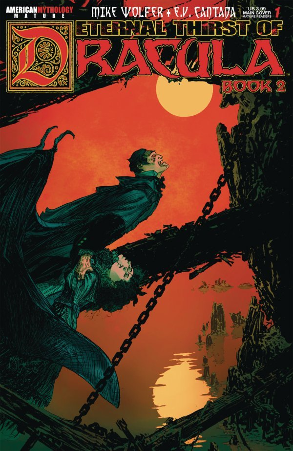 Eternal Thirst of Dracula: Book 2 #1 review