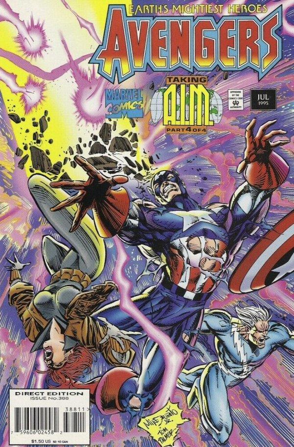 The Avengers #388