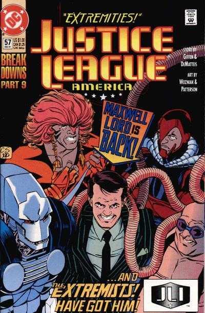 Justice League America #57