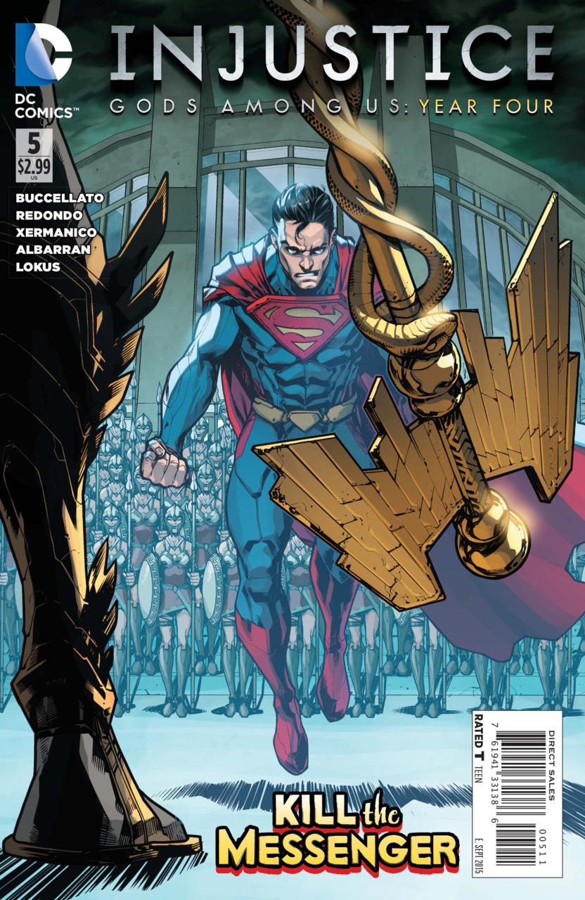 DC COMICS GODS AMONG US YEAR FOUR #12 INJUSTICE