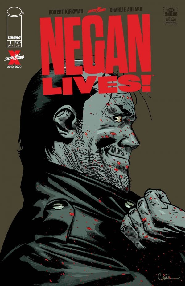 Negan Lives #1 review