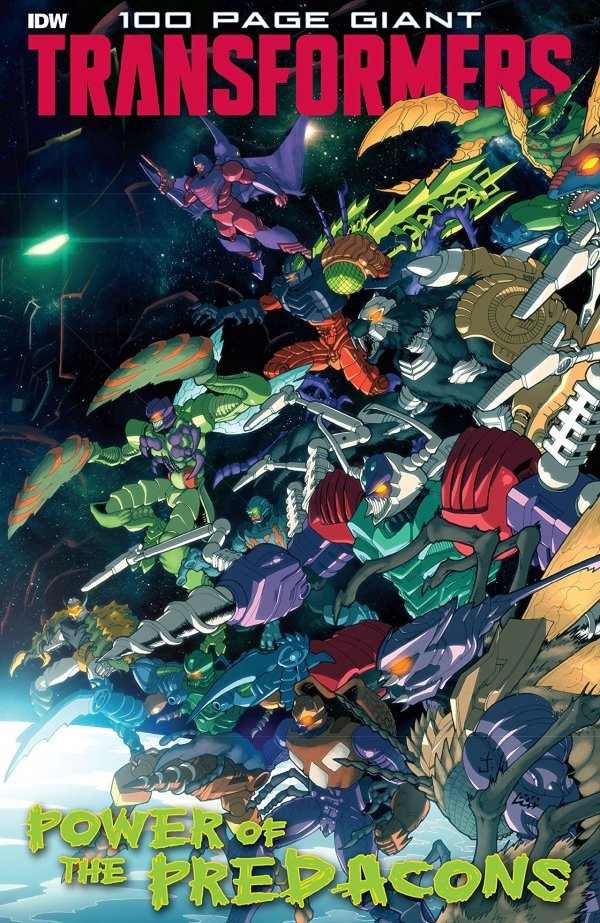 Transformers: 100-Page Giant: Power of the Predacons #1