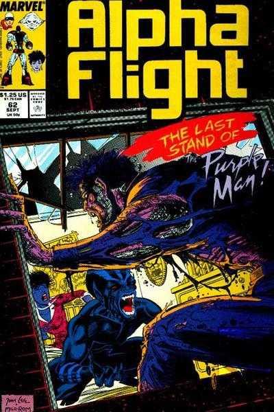 Alpha Flight #62