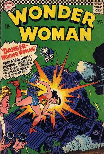 Wonder Woman #163