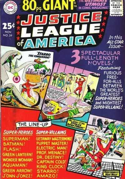 Justice League of America #39