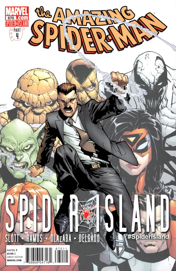 The Amazing Spider-Man #670