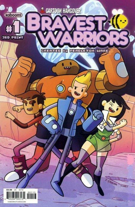 Bravest Warriors #1 3rd Printing