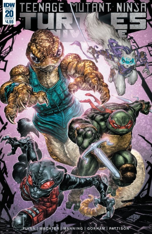 Teenage Mutant Ninja Turtles: Universe #20