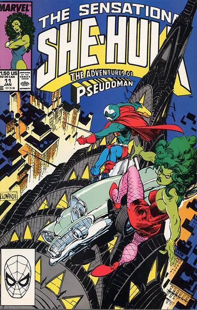 The Sensational She-Hulk #11