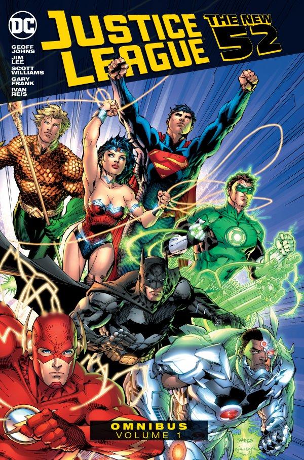 Justice League: The New 52 Omnibus Vol. 1 HC