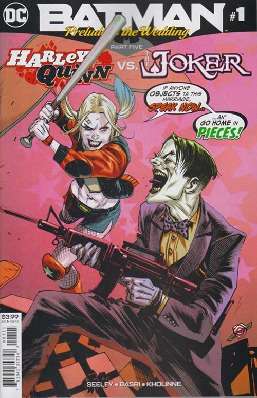 Batman: Prelude To The Wedding - Harley Quinn vs. The Joker #1