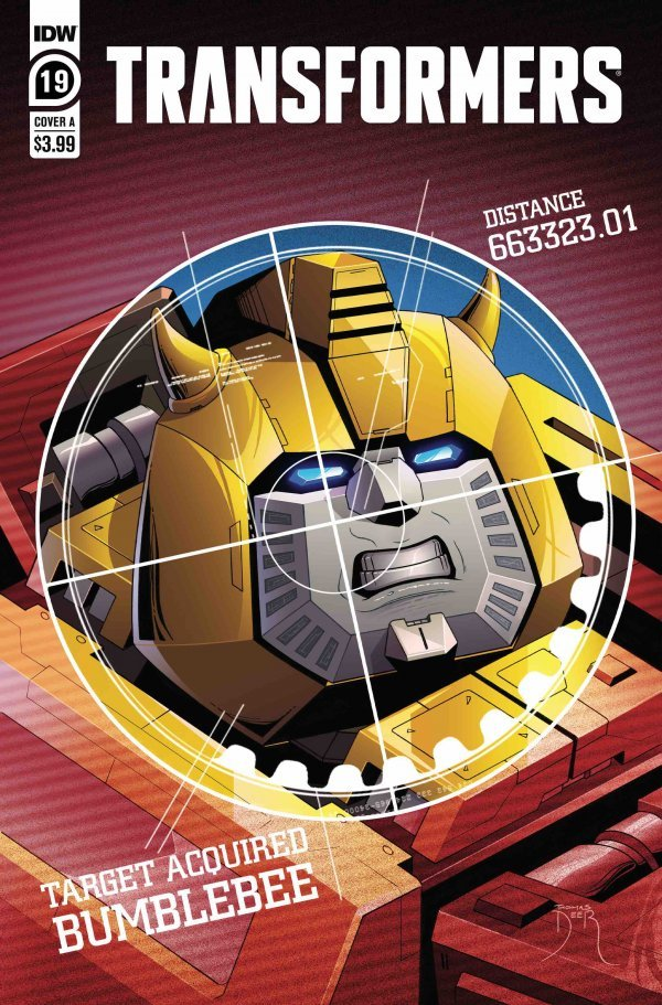 The Transformers #19 review