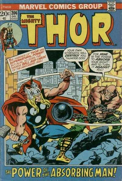 The Mighty Thor #206