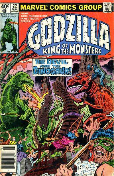 Godzilla: King of the Monsters #22