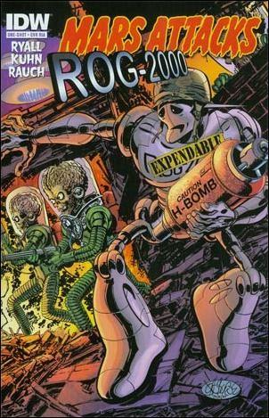 Mars Attacks: Zombies vs. Robots #1